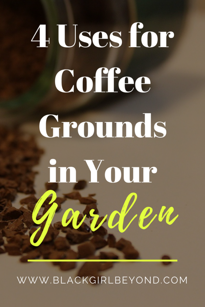 4 Uses For Coffee Grounds in Your Garden