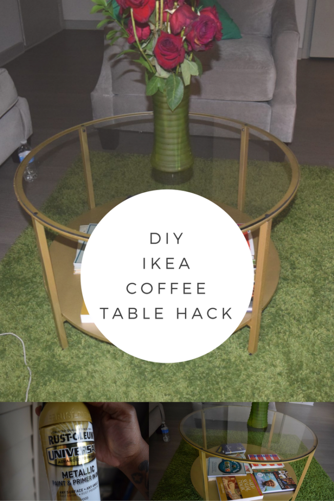 DIY: Ikea Coffee Table Hack