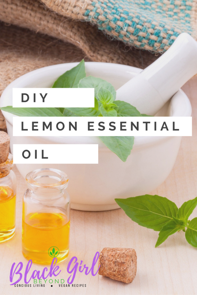 DIY: Lemon Essential Oil