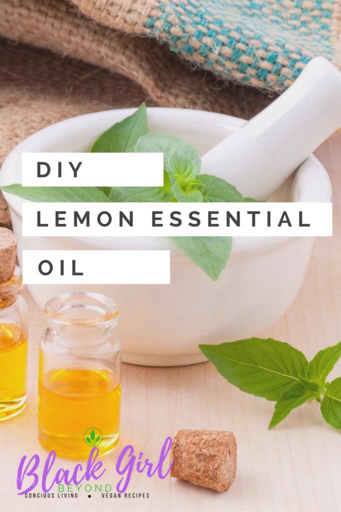 DIY: Lemon Essential Oil