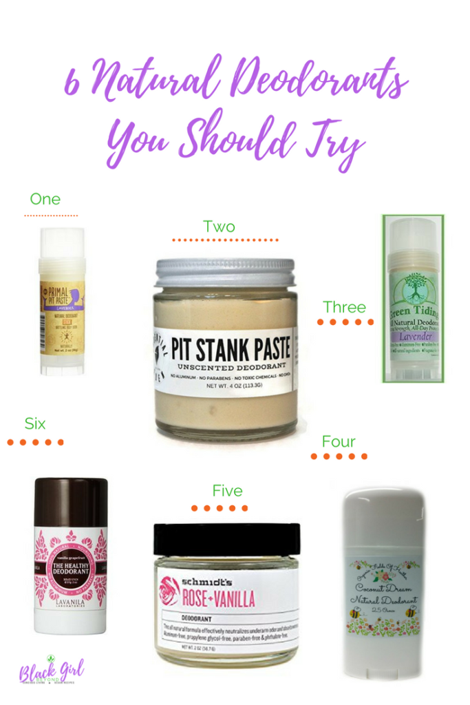 6 Natural Deodorants You Should Try Now