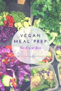 Vegan Meal Prep – Stir Fry Vegetables with Brown Rice