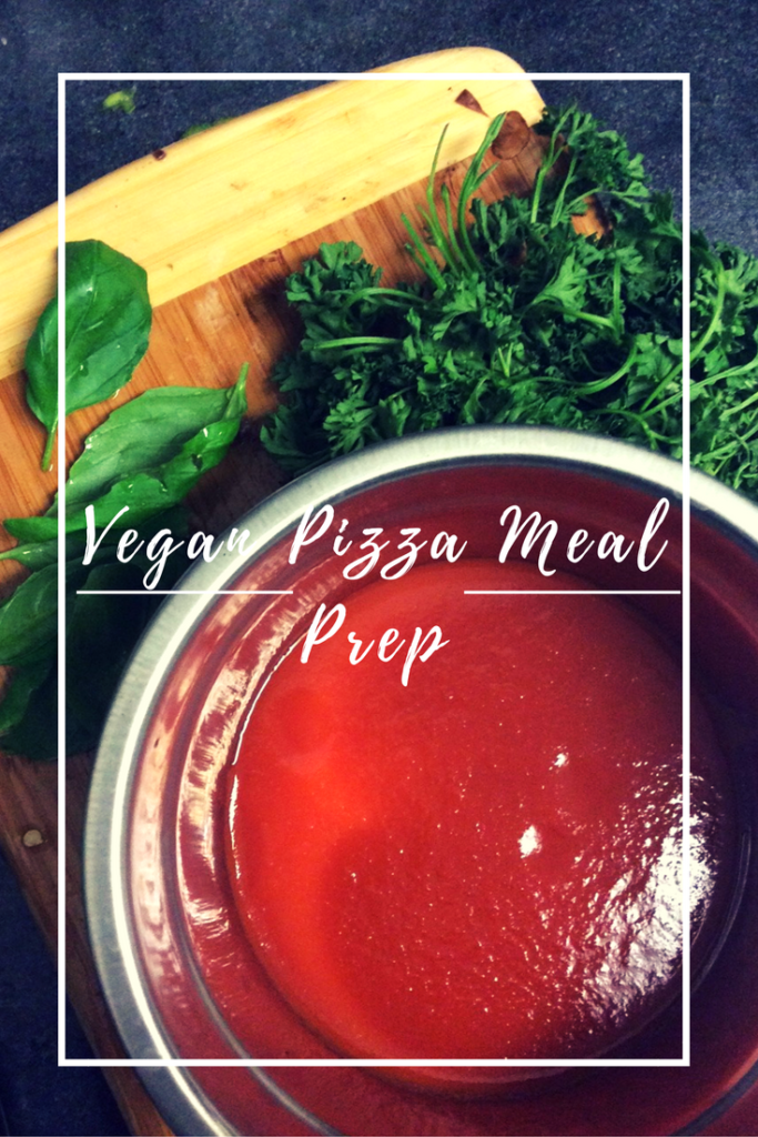 Meal Prep: Vegan Pizza Recipe