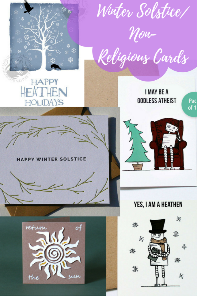 Winter Solstice /Non- Religious Cards I Love