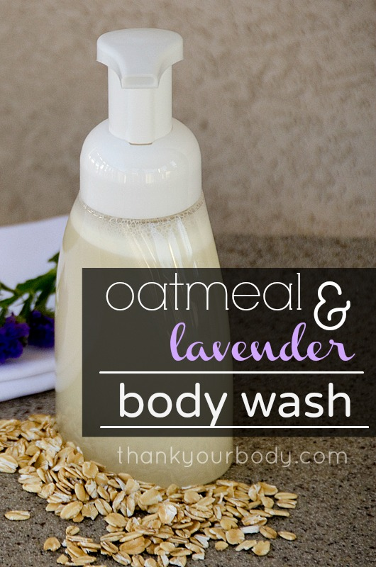 how to make natural body wash recipes