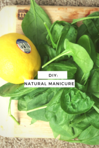 Home Remedies: Natural Manicure