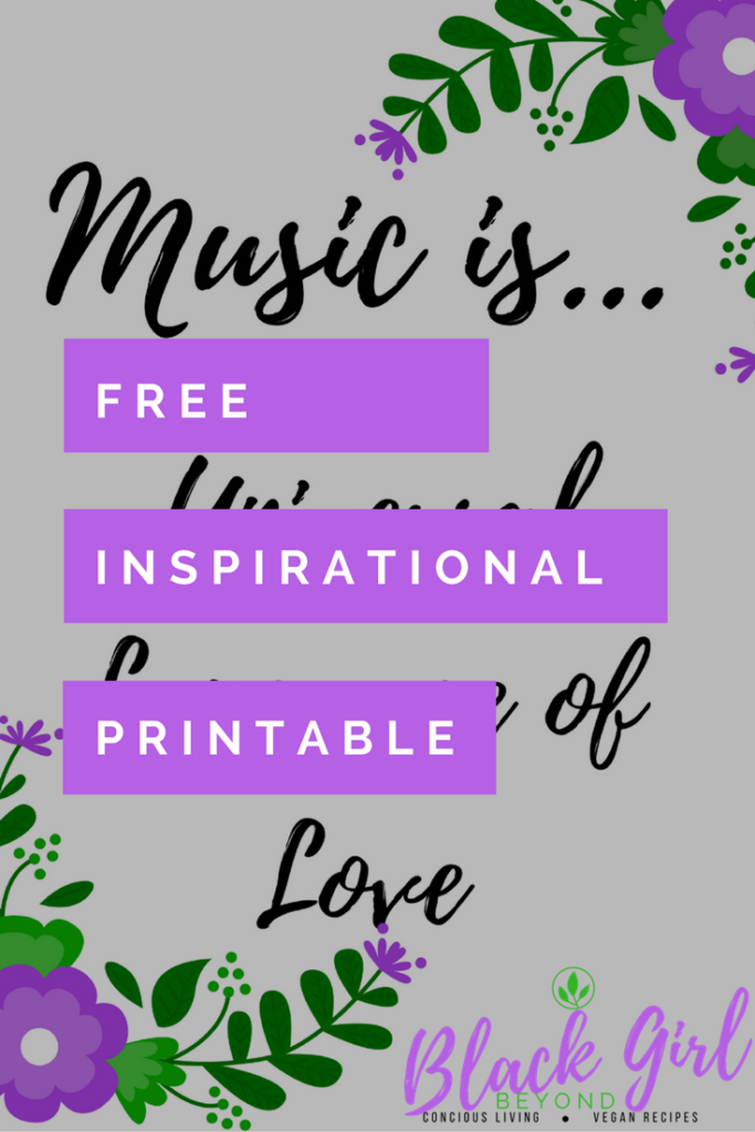 Free Printable – Inspirational Quote