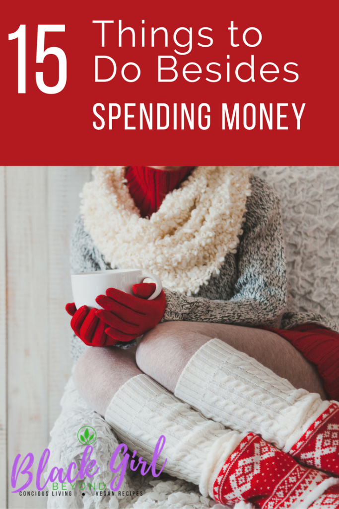 15 Things to Do Instead Of Spending Money (Infographic)