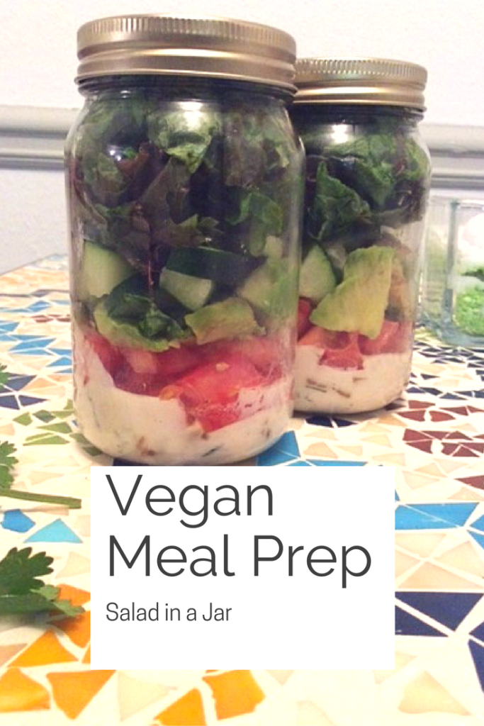 Vegan Meal Prep- Salad in a Jar
