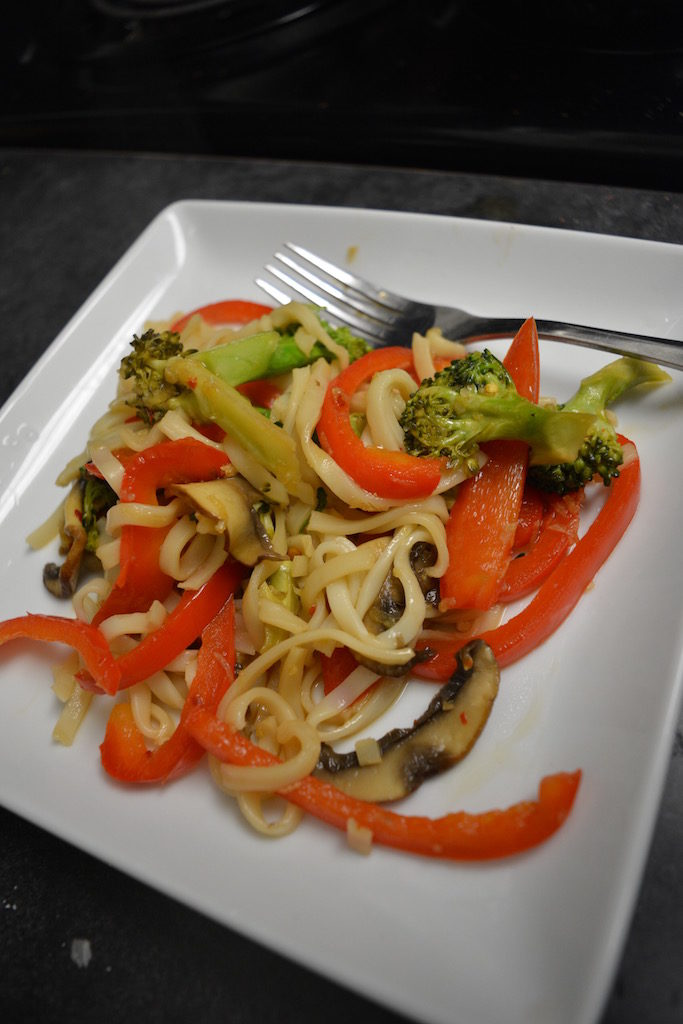 Veggie Stir Fry Recipe w/ Mushrooms and Broccoli