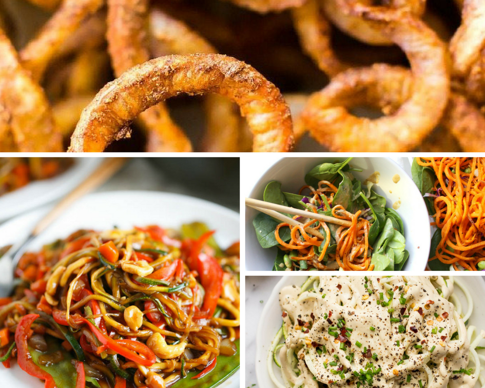 5 Vegan Spiralizer Recipes I Want To Try!