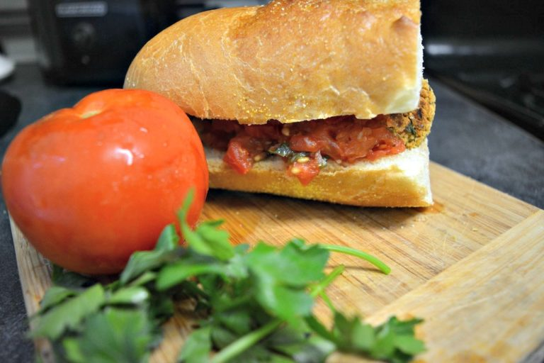 Vegan Meatball Subway Sandwich