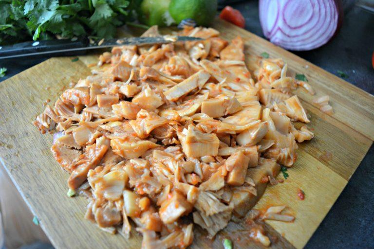 Vegan Jackfruit Taquitos