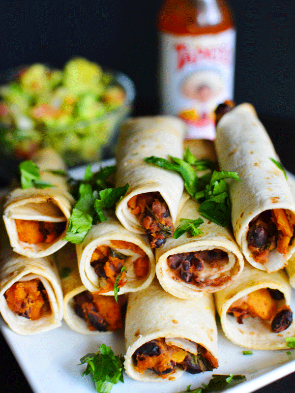 Vegan Recipe: Sweet Potato Taquitos