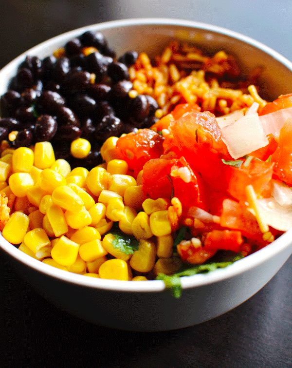 Vegan Meal Prep: Burrito Bowl