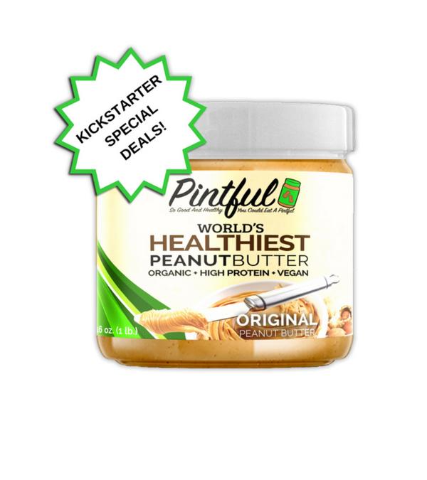 World's Healthiest Peanut Butter Launches on Kickstarter