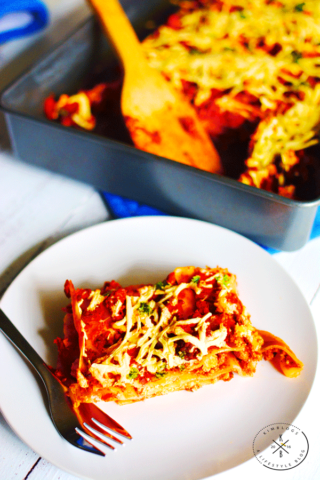 Easy To Make Vegan Lasagna